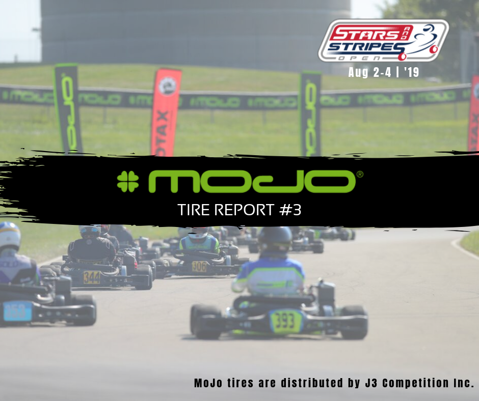 MOJO Tire Report #3 - Race Rotax